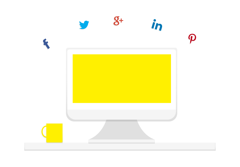 Linkedin Pinterest Facebook
